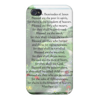 KRW The Eight Beatitudes of Jesus G4  iPhone 4/4S Cover