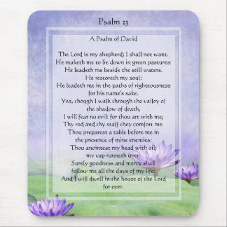 KRW The Lord is My Shepherd Psalm 23 Mousepad
