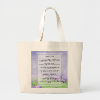 KRW The Lord is My Shepherd Psalm 23 Tote Bag