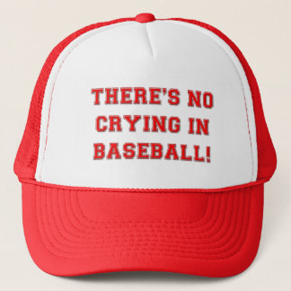KRW There's No Crying in Baseball Hat