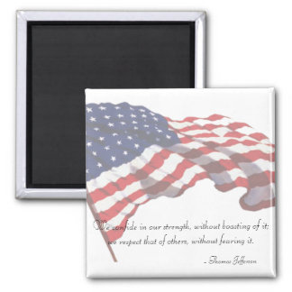 KRW Thomas Jefferson Quote Magnet