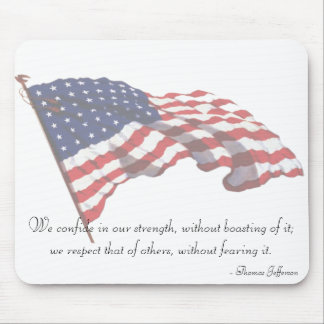KRW Thomas Jefferson Quote Mousepad