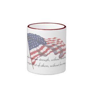 KRW Thomas Jefferson Quote Ringer Coffee Mug
