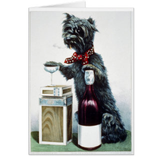KRW Vintage A Jolly Dog 1878 Card