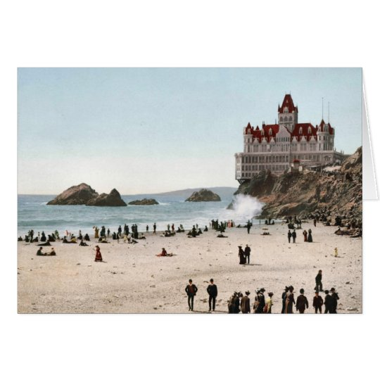 KRW Vintage Cliff House, San Francisco 1902 Card