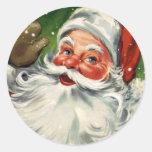 KRW Vintage Santa Claus Christmas Sticker
