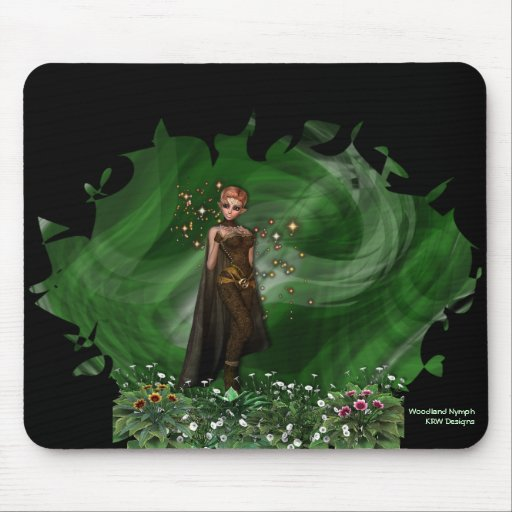 KRW Woodland Nymph Mouse Mat