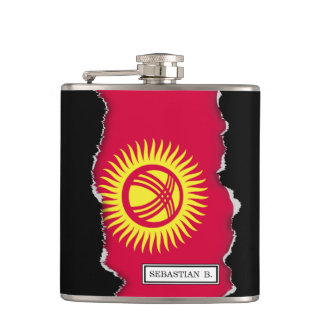 Krygstan Flag Hip Flask