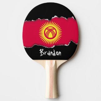 Krygstan Flag Ping Pong Paddle