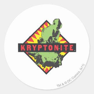 Kryptonite Classic Round Sticker