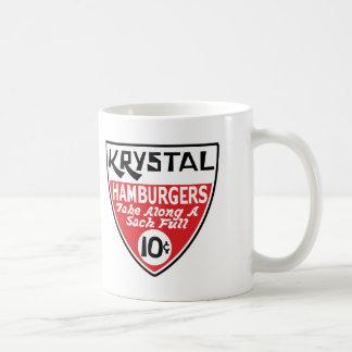 Krystal 10 Cent Shield Coffee Mug