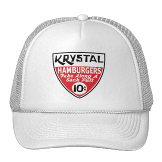 Krystal 10 Cent Shield Hats