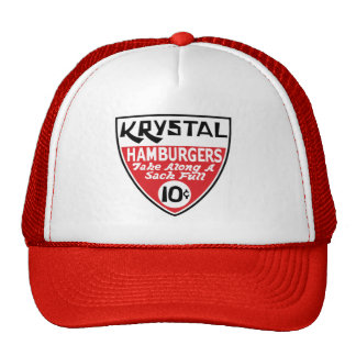 Krystal 10 Cent Shield Trucker Hats