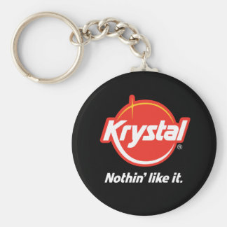 Krystal Nothin Like It Basic Round Button Keychain