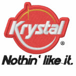 Krystal Nothin' Like It Embroidered Sweatshirt