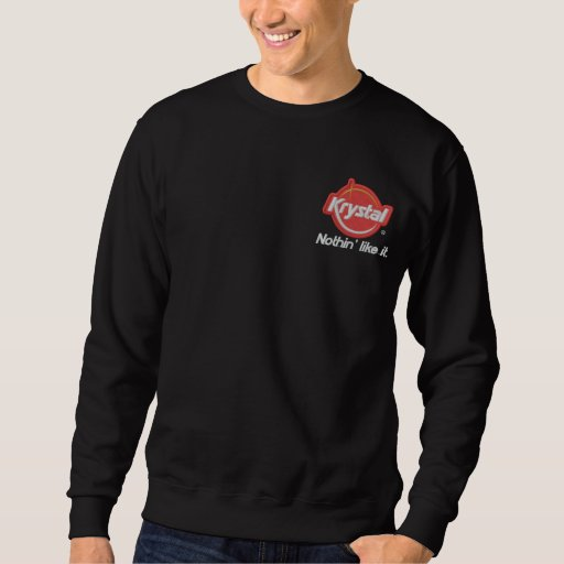 Krystal Nothin' Like It Embroidered Sweatshirt