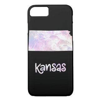 KS Kansas State Iridescent Opalescent Pearly iPhone 8/7 Case