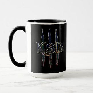 KSB Blue Grunge Logo Mug