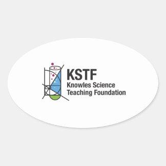 KSTF Oval Stickers