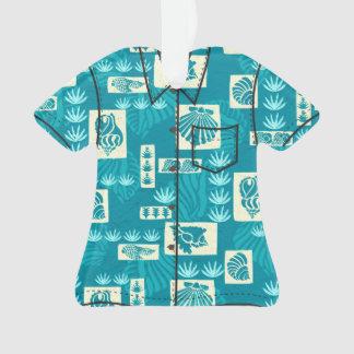 Kua Bay Hawaiian Undersea Shells Aloha Shirt