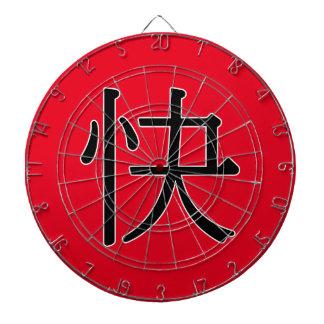 kuài - 快 (fast) dart boards
