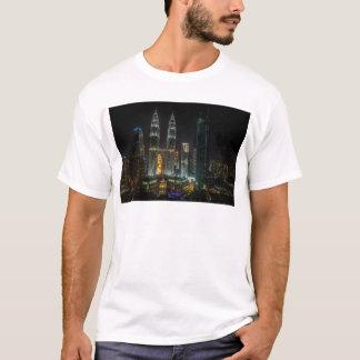 Kuala Lumpar Skyline At Night T-Shirt