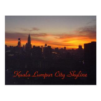 Kuala Lumpur City Skyline Postcard