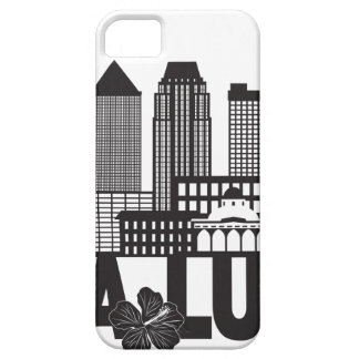 Kuala Lumpur City Skyline Text Black and White Ill iPhone 5 Covers