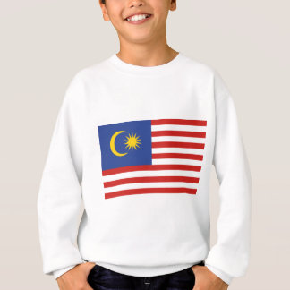 kuala lumpur flag sweatshirt
