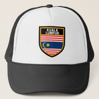 Kuala Lumpur Flag Trucker Hat