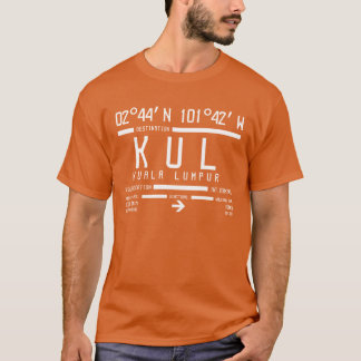 Kuala Lumpur International Airport Code T-Shirt