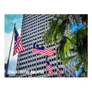 Kuala Lumpur, Malaysia postcard
