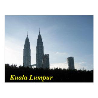 Kuala Lumpur Towers Postcard