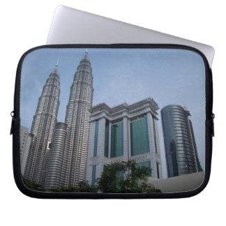 Kuala lumpur twin topwers laptop sleeve