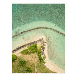 Kualoa From Above Postcard