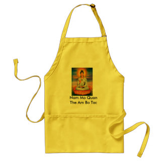 Kuan Yin Apron with prayer