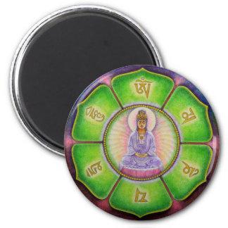 "Kuan Yin ""Om Mani Padme Hum"" Magnet"