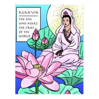 Kuan Yin, Quan Yin, Hears Your Cries Postcard