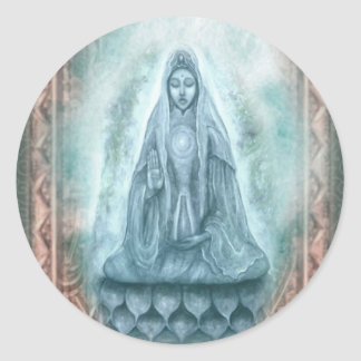 Kuan Yin sticker