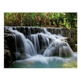 Kuang Si Falls, Laos Postcard
