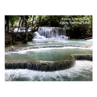Kuang-Si Waterfalls, Luang Prabang Postcard