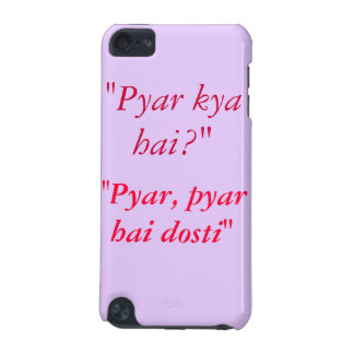 Kuch Kuch Hota Hai Quote iPod Touch 5G Case