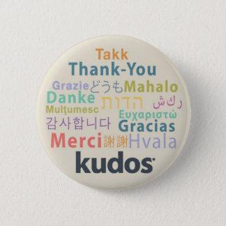 Kudos® Thank-you 2 Inch Round Button