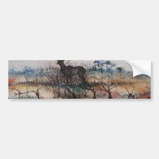 Kudu Bull Bumper Sticker
