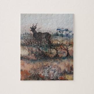 Kudu Bull Jigsaw Puzzle