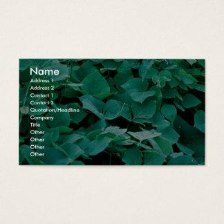 Kudzu Business Card