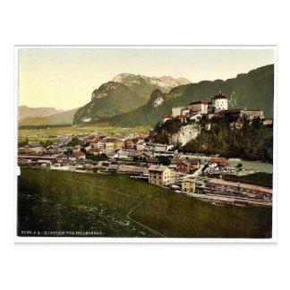 Kufstein, Tyrol, Austro-Hungary magnificent Photoc Postcard