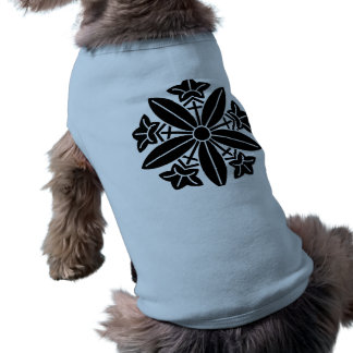 Kuga autumn bellflower car dog shirt
