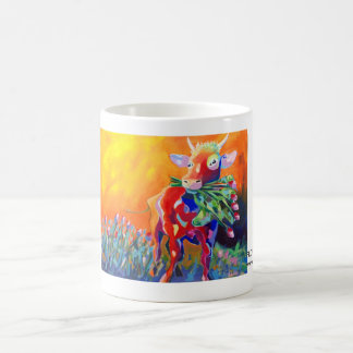 Kuhle cup: Flower power baby Coffee Mug