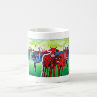 Kuhle cup: RedGangGirls in Hamburg Coffee Mug